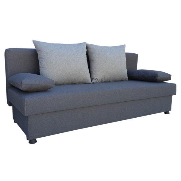canapea neo gri extensibila cu lada depozitare