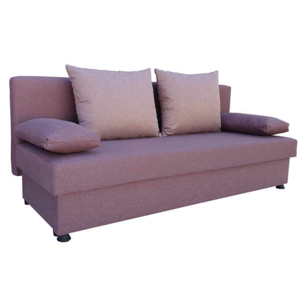 Canapea extensibila pentru dou persoane mov